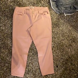 Torrid blush jeggings